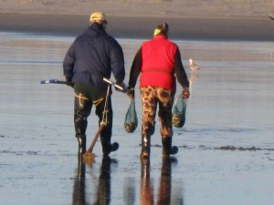 March, April 2012 razor clam digging dates - Long Beach Peninsula
