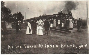 The Railroad that Ran by the Tide - Klipsan Beach Life Saving Station